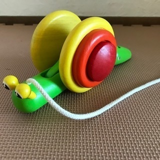 ■PlanToys プラントイ 5108 スネイル 知育玩具 木...