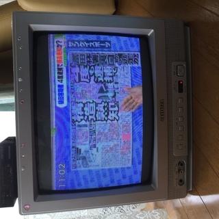 地デジチューナー付きアナログカラーテレビ14型