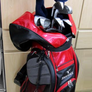 パワービルト ゴルフセット&TourStage キャディバッグ ...