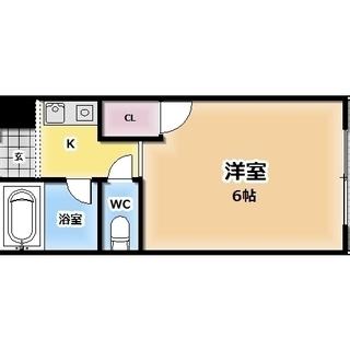 ✨共益費込み✨当店限定♡1Kセパレート♡生野区今里