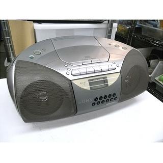 札幌【SONY CD/カセットラジカセ】カセットテープ ソニー ...