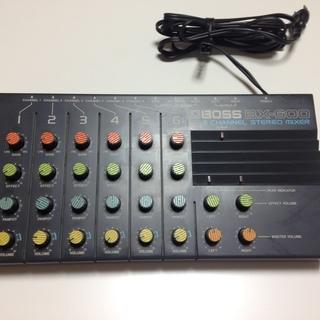 BOSS ボス BX-600 6チャンネルステレオミキサー