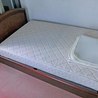 セミダブル コイルスプリングベッド