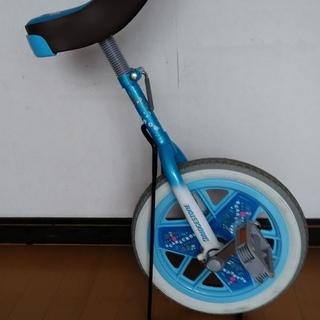 (中古)一輪車(14インチ)ブリヂストン スケアクロウスタンド付き