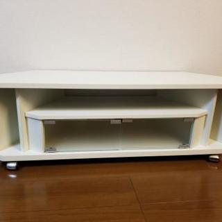 【美品】白いテレビ台