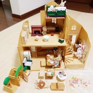 激安☆シルバニアセット(ハウス、小物、お人形)※更新しました