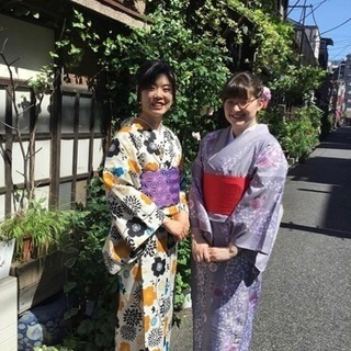 【東京・根津・着物レンタル】手ぶらで気軽に和装体験!カジュアル着物プラン