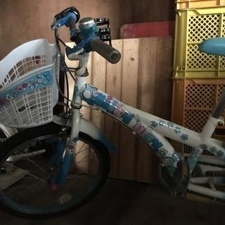 子供用女の子自転車.20インチくらい