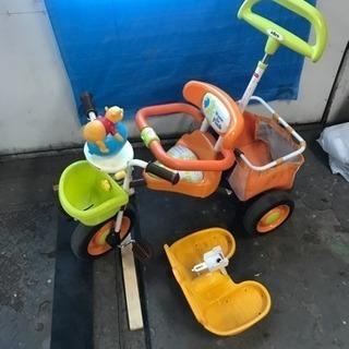 プーさんの三輪車 使用感ありでもまだまだ使えます。