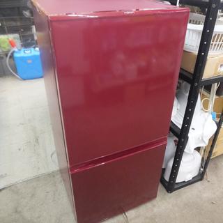 札幌 ② ワインレッド アクア 冷蔵庫 157L 2016…