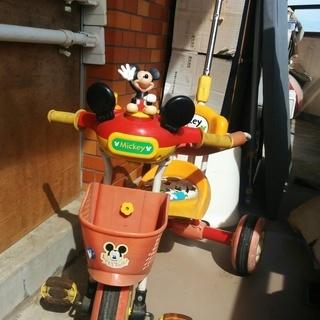 【値下げ】ミッキーマウス 三輪車