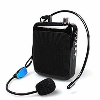 ポータブル拡声器 ハンズフリー拡声器 スピーカー 高音質 充電式 ...