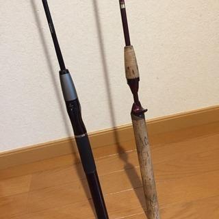 SHIMANO シマノのスコーピオンのロッド2本セット