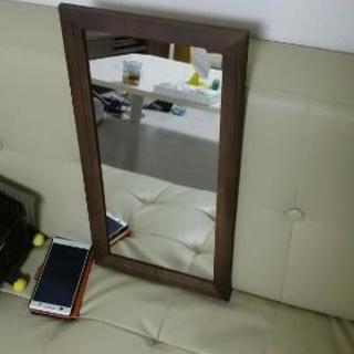 新品)ウォールミラー 壁掛け鏡 姿鏡
