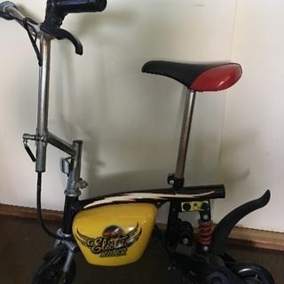 モンキータイプの電動バイク