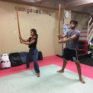 刀と柔の古武術教室 in 武蔵境