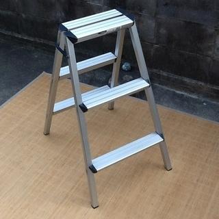 【イチキュッパ】TNS踏台、脚立で アルミ製の折りたたみ  日本ア...
