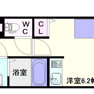 【サンロール難波南】3号タイプ!1Rタイプ!やっぱり洗濯機は室内...