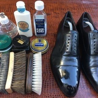 靴磨き教室