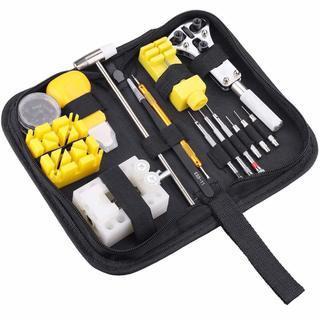 【新品】腕時計 工具セット 88点セット 時計修理ツール 電池交...