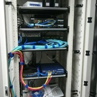 LANや光!企業様のネットワーク構築工事!