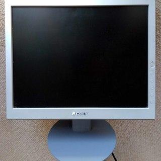 【無料】 SONY TFT15インチ液晶ディスプレイ SDM-S53