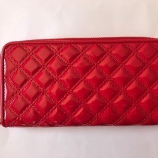 juzeの合皮エナメル財布