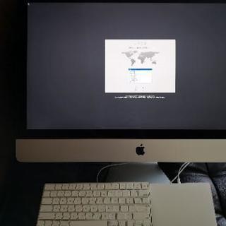 iMac 2016年2月購入