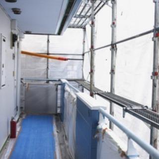 【残り2名のみ!急募】マンションの外壁や廊下の簡単な修繕工事・防水塗装
