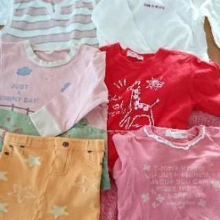 子供服(80㎝)秋冬物?16枚おまとめセット+パジャマ2枚