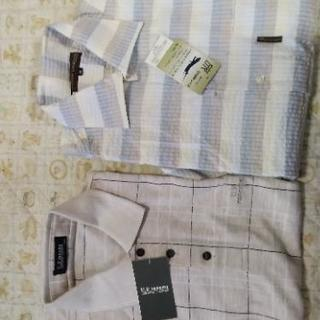値下げ メンズ夏物ポロシャツ2枚セットMサイズ タグ付き