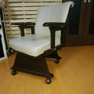 合皮の回転椅子(こたつ使用可能)