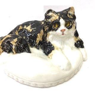 【レア】 ネコの置き物 陶器 ケンジントン キャット イングラン...
