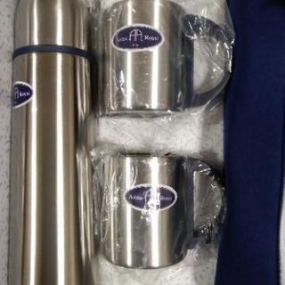 アンナロッシ ステンレスボトルマグカップ2つセット 未使用品