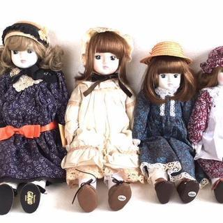 Sankyo サンキョー オルゴール人形 まとめ 4体セット C...