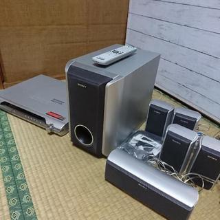 sony ホームシアター スピーカー DVDプレイヤー Dolby...