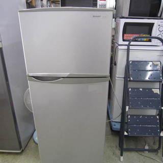 シャープ SJ-KR14-FG 冷蔵庫137L 2008年製