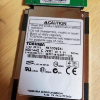 1.8インチ 30Gハードディスク