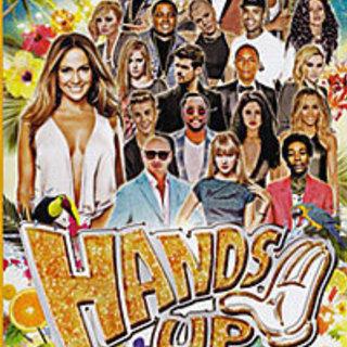 音楽DVD HANDS UP DVD1枚50曲収録
