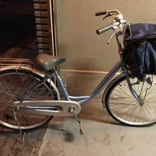 26インチ自転車 盗難防止カバー付