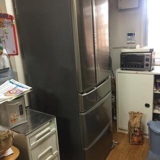 中古品 冷凍冷蔵庫 national nr-f531t-sr