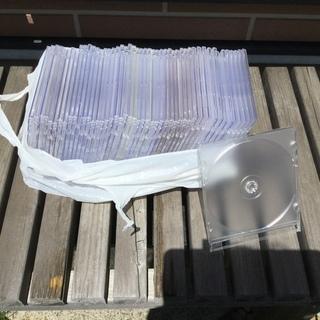 プラケーススーパースリムCD.dvd用49枚です