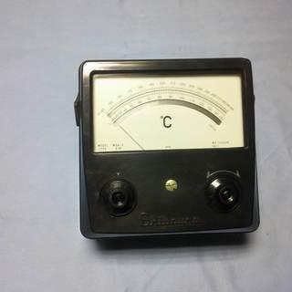 サーミスタ温度計 表示部のみ 計器 1973年製 中古品