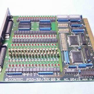 CONTEC Cバス用ボード PIO-32/32(98)K  中古品