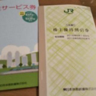 JR東日本株主優待券4枚ととサービス券