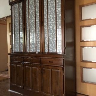 食器棚(水屋箪笥)差し上げます無料(^^)泉佐野市