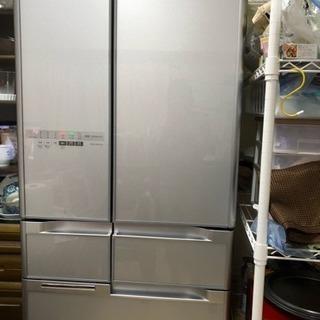 日立 HITACHI R-B5200-XS 冷蔵庫517L・真空...