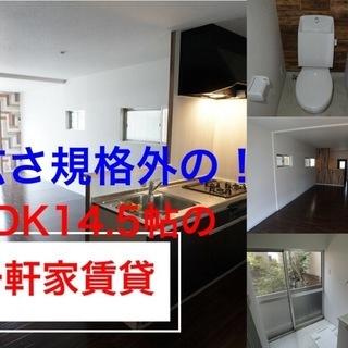 【室内動画付】LDKの広さ規格外14.5帖一軒家賃貸 堺市中区土師...