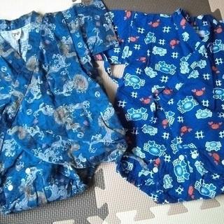 男の子 浴衣(70センチ) 2組セット ②(投稿管理番号:62)