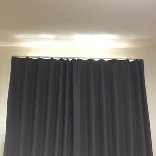 遮光カーテン 2セット まとめ売り 小窓用